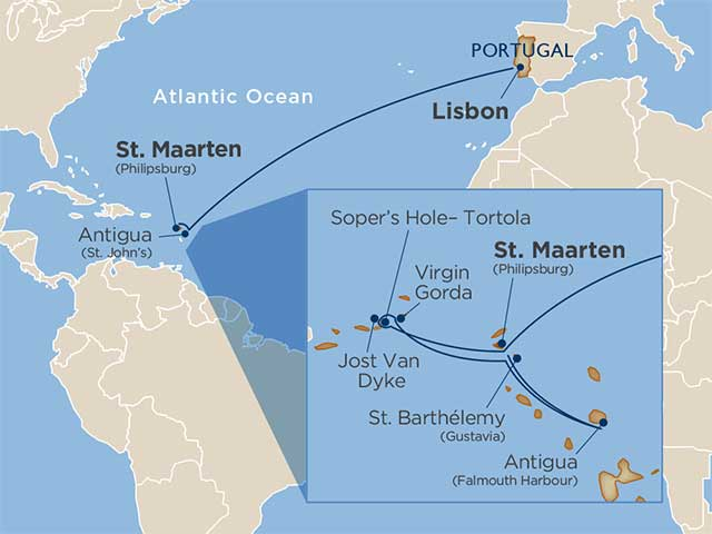 Star Collector:  Lisbon & the Leewards—A Transatlantic & Caribbean Cruise Pairing