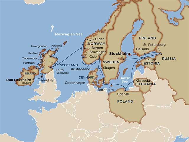 Star Collector: The North Sea & the Baltic