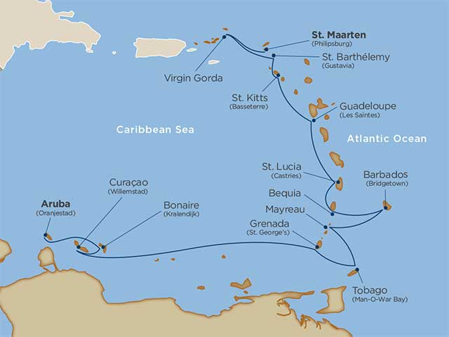 Abc Islands Voyage On Windstar Cruises