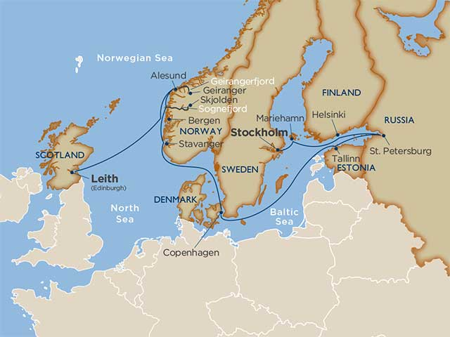 Star Collector: Scenic Scandinavia & the Baltic's Best