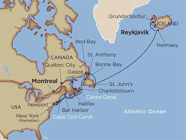 Star Collector: Setting of the Midnight Sun & Autumnal Equinox: Iceland to Quebec