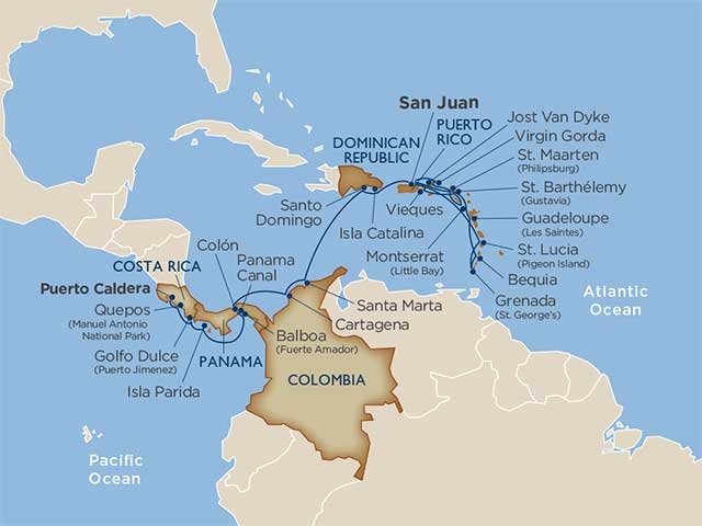 Star Collector: Two Sides of the Same Isthmus: Central America & the Windward Isles