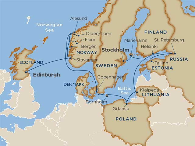 The Viking Lore Finnish Fortresses Amp The Russian Ballet 6 28 19 Voyage On Windstar Cruises
