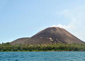 Scenic Cruising Krakatoa, Indonesia