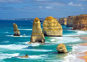 Portland, Australia 12 apostles pillar