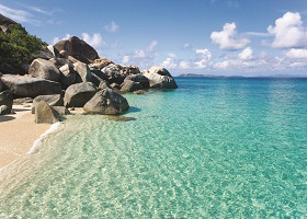 Virgin Gorda, Prickly Pear Beach, B.V.I