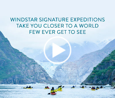 Windstar Signature Expeditions take you closer to a world few ever get to see