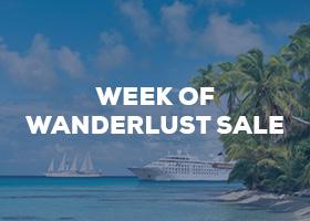 Week of Wanderlust Sale