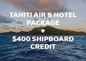 Tahiti last minute cruise deal