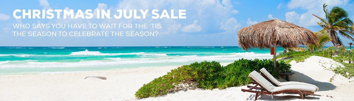 Chrismas In July Cruise Sale