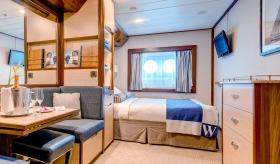 Category AX Deluxe Cruise Stateroom