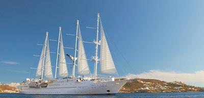 Wind Spirit Luxury Yacht Voyages - Windstar Cruises